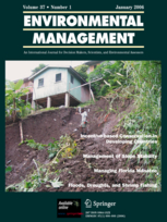Environmental Management Cover Image
