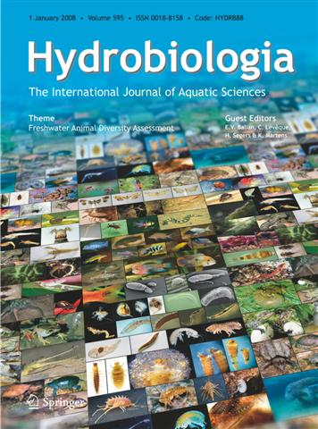 Hydrobiologia Cover Image