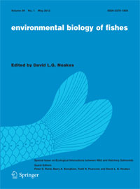 environmental biology of fishes cover image