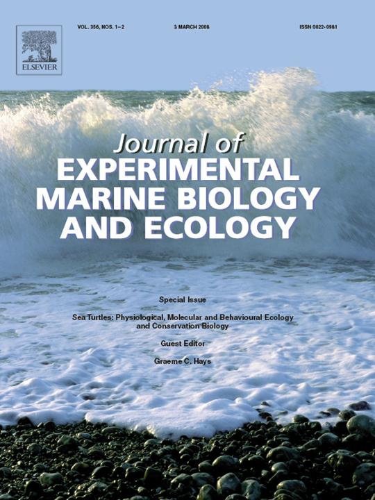 Journal of Experimental Marine Biology and Ecology Cover Image