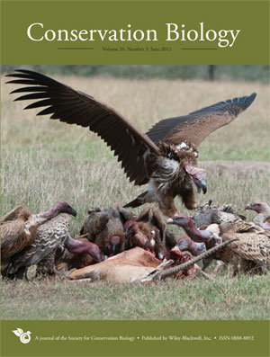 conservation biology cover