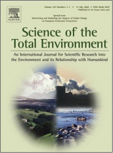 Science of the total environment Cover Image