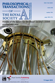 Philosophical Transactions of the Royal Society Cover Image