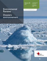Environmental Reviews Cover Image
