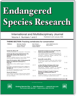 Endangered Species Research Cover Image